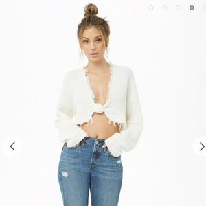 Forever 21 crop sweater